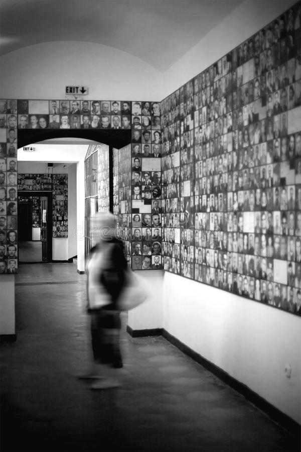 Minnes- museum av kommunism royaltyfri foto