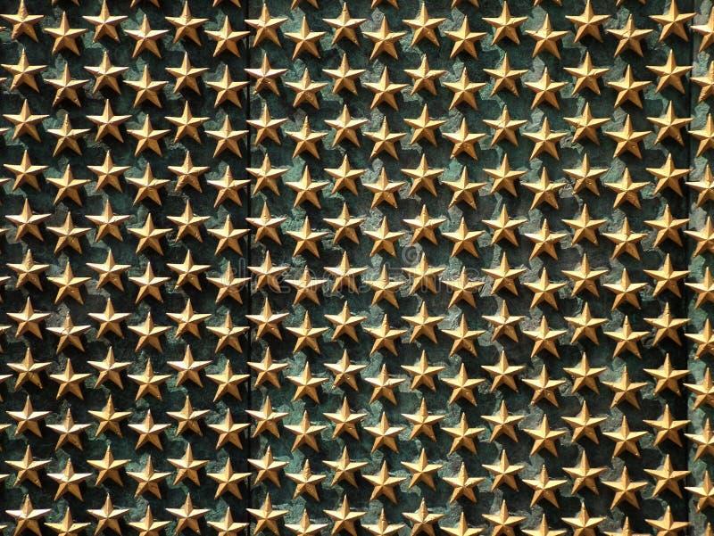 minnes- stjärnor royaltyfri bild