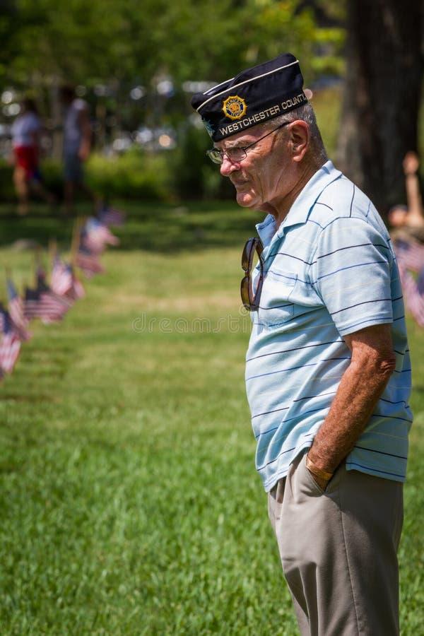Minnesdagen på VA-kyrkogården royaltyfria bilder