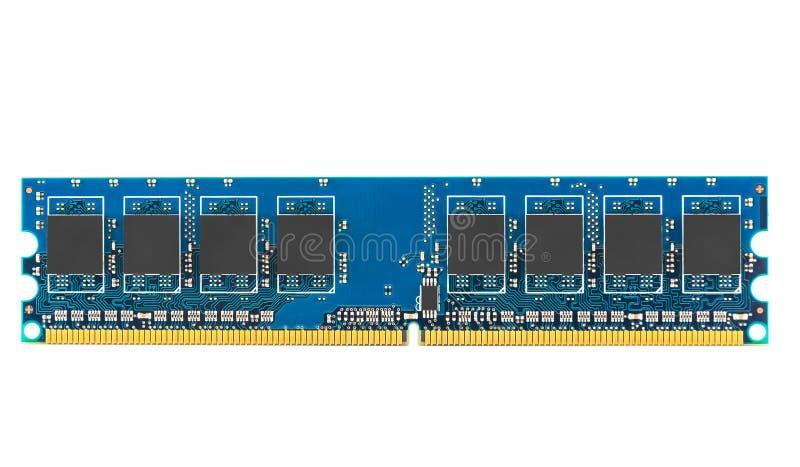 Minnesenhet för DDR RAM arkivbild