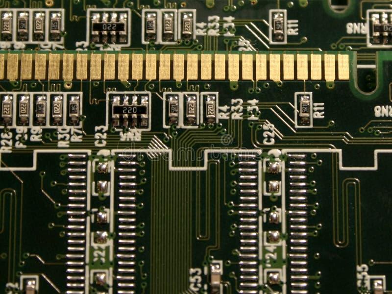 minnesenheter för dator ii royaltyfria foton