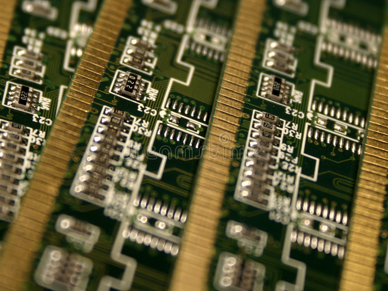 minnesenheter för dator iii arkivbild