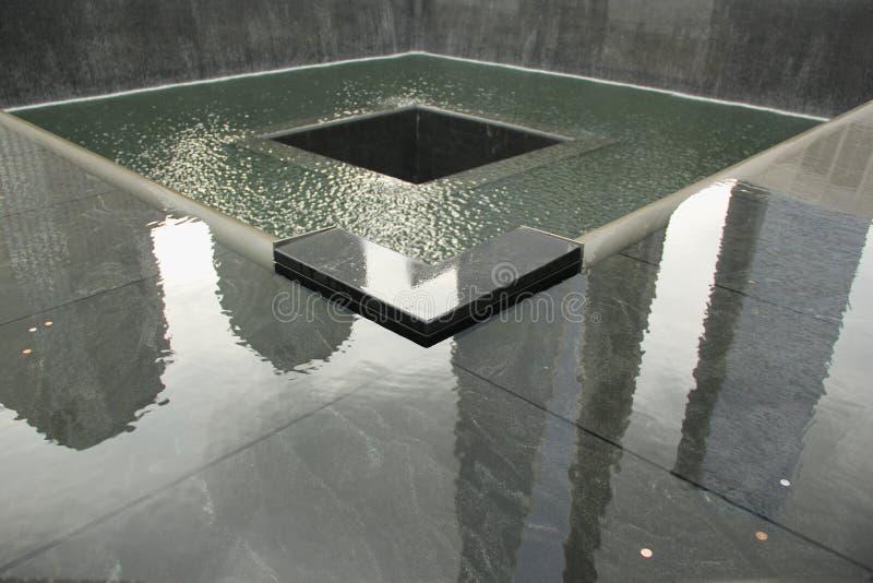 9/11 minnesmärke royaltyfri foto