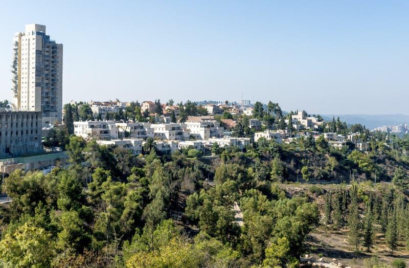 Minnesmärke av den israeliska befrielsearmén på Mount Herzl arkivfoto