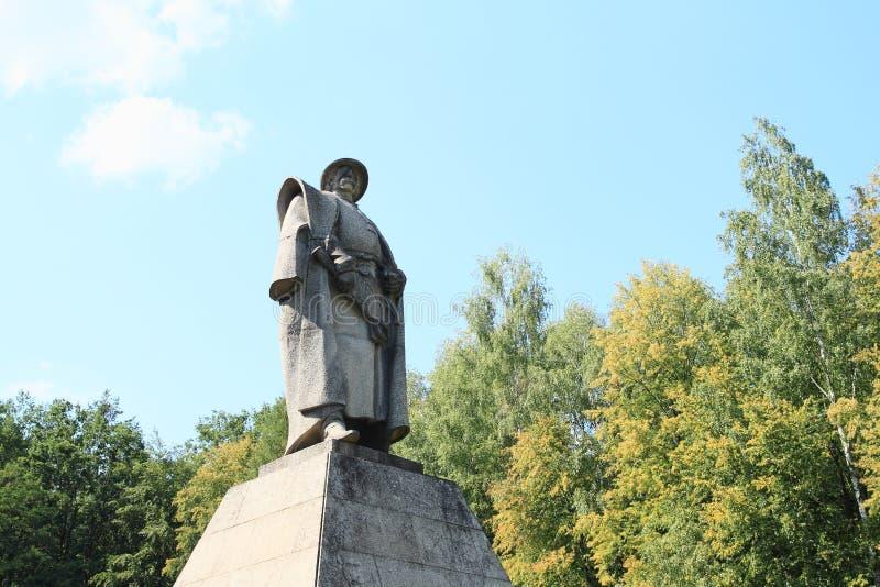 Minnesmärke av Jan Zizka från Trocnov royaltyfria bilder