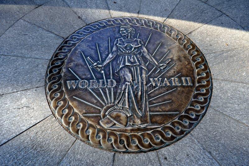 Minnesmärke för världskrig 2 royaltyfri bild