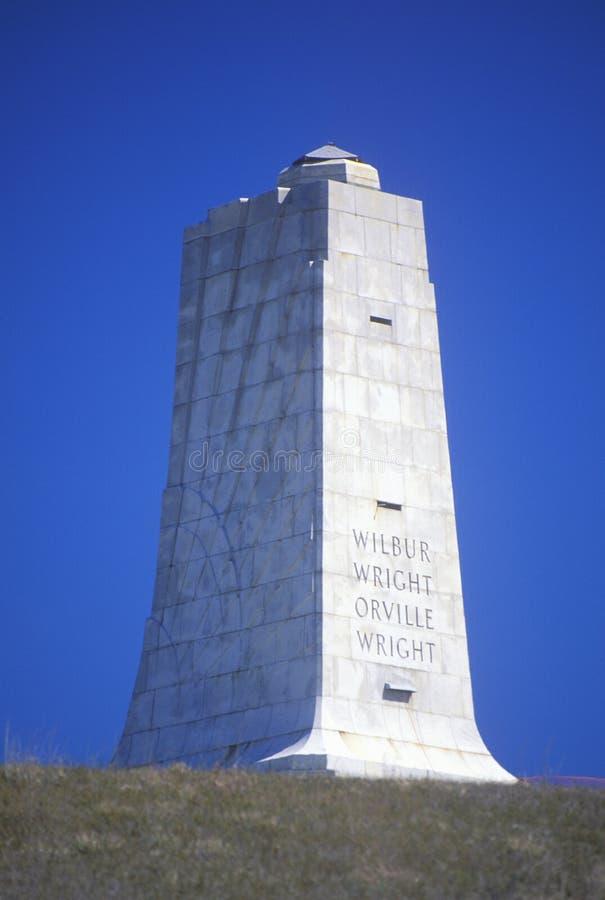 Minnesmärke för Wright broderNational royaltyfri foto