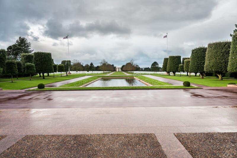 Minnesmärke till det stupat i Normandy arkivbilder