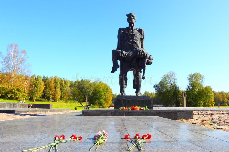 Minnesmärke till offren av nazism av världskrig II i USSR royaltyfri foto
