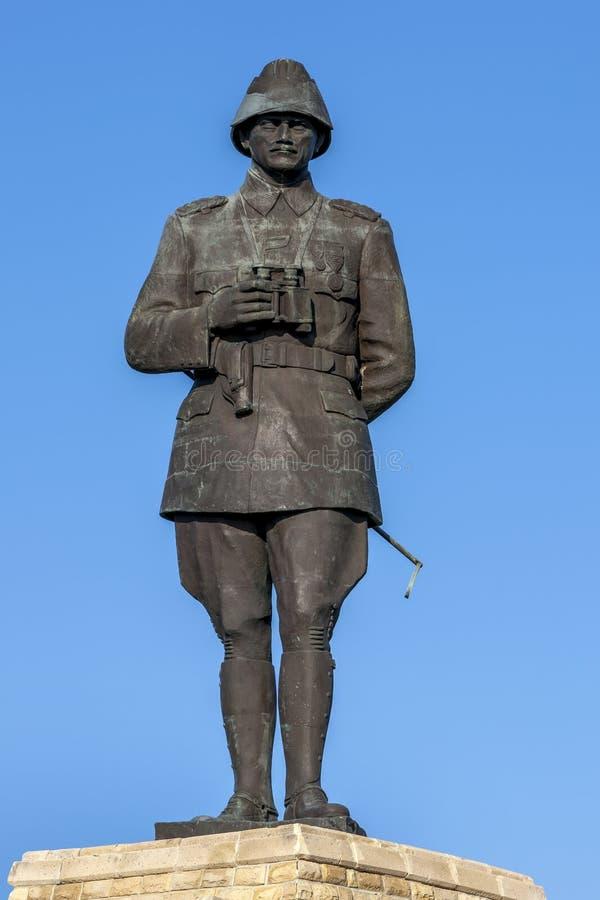 Minnesmärken till Mustafa Kemal på Gallipoli arkivbilder