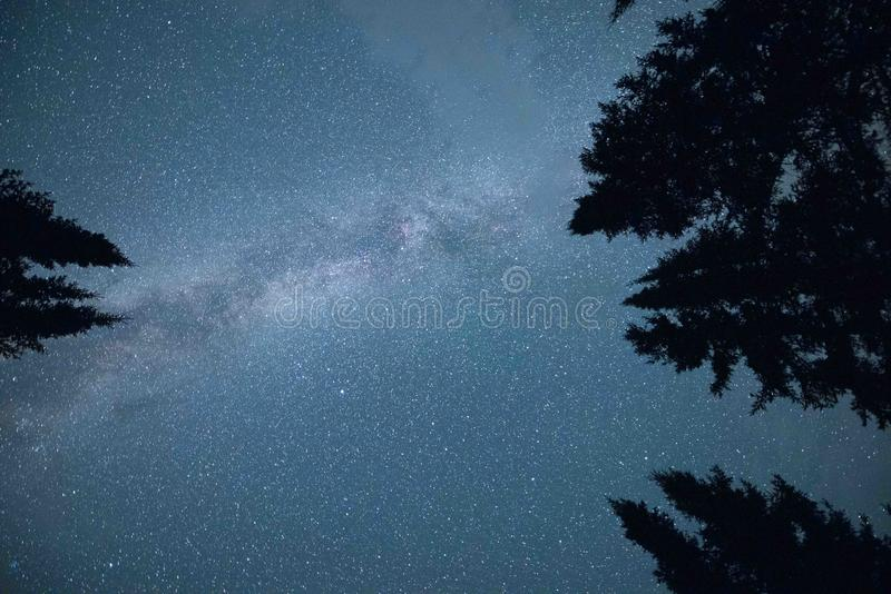 Minnesota Milky Way stock images