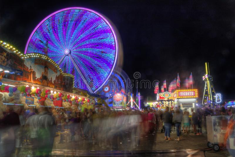 Minnesota State Fair in St. Paul stock images