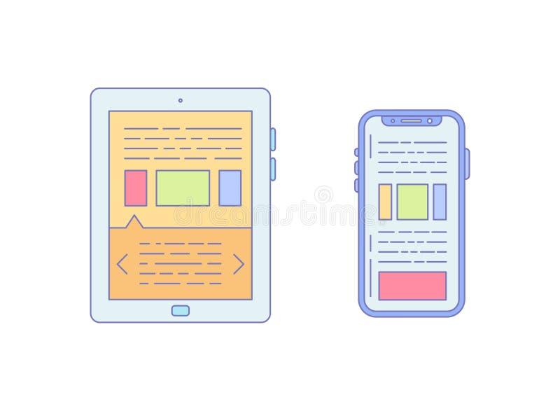 Minnestavlan Smartphone fodrade symbolen för affär arkivfoton