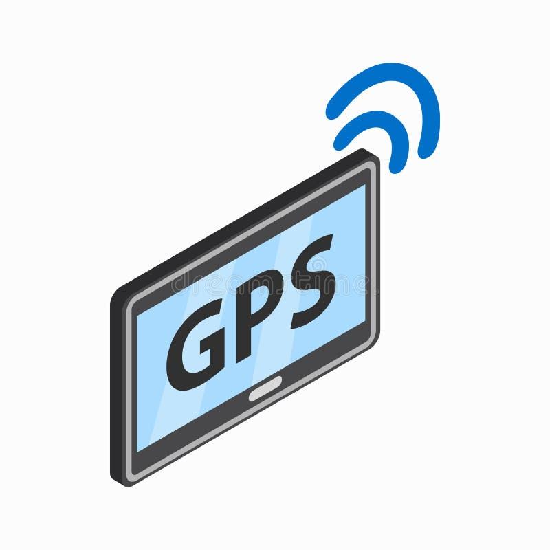 MinnestavlaPC:n med gps och wi-fi undertecknar symbolen stock illustrationer