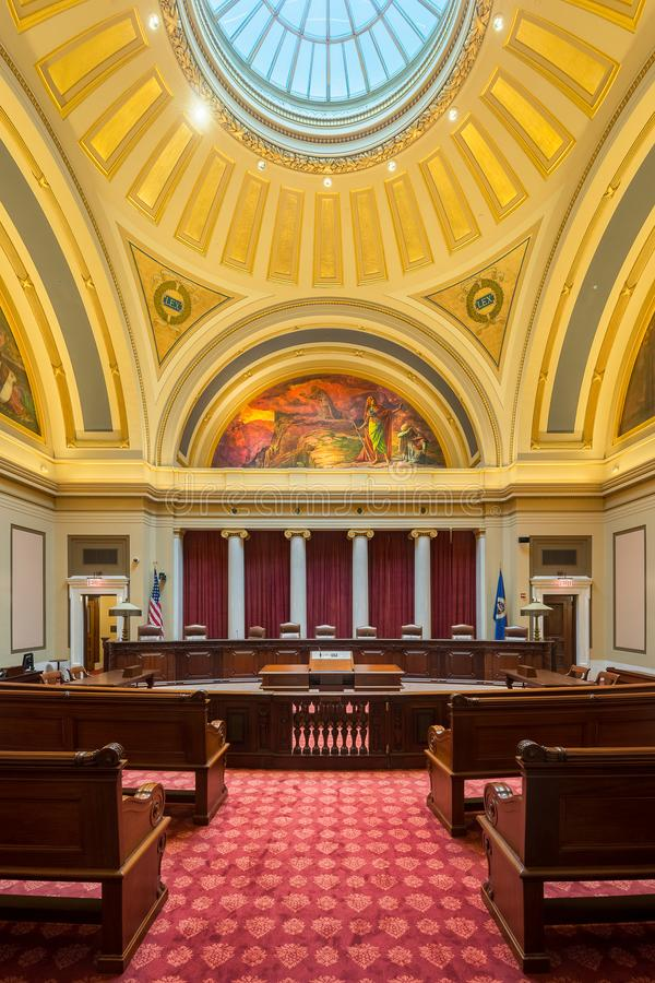 Minnestoa sąd najwyższy fotografia stock