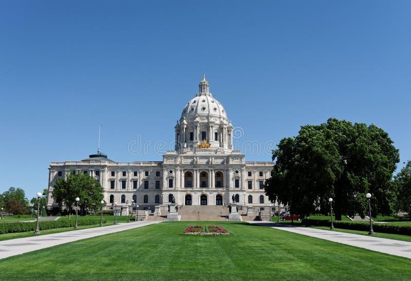 Minnestoa stanu Capitol budynek zdjęcie stock