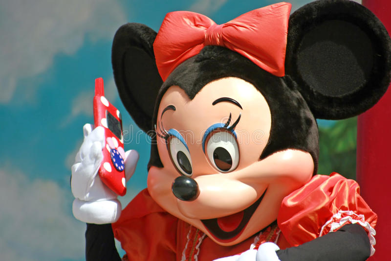 Minnie Mouse royalty-vrije stock foto