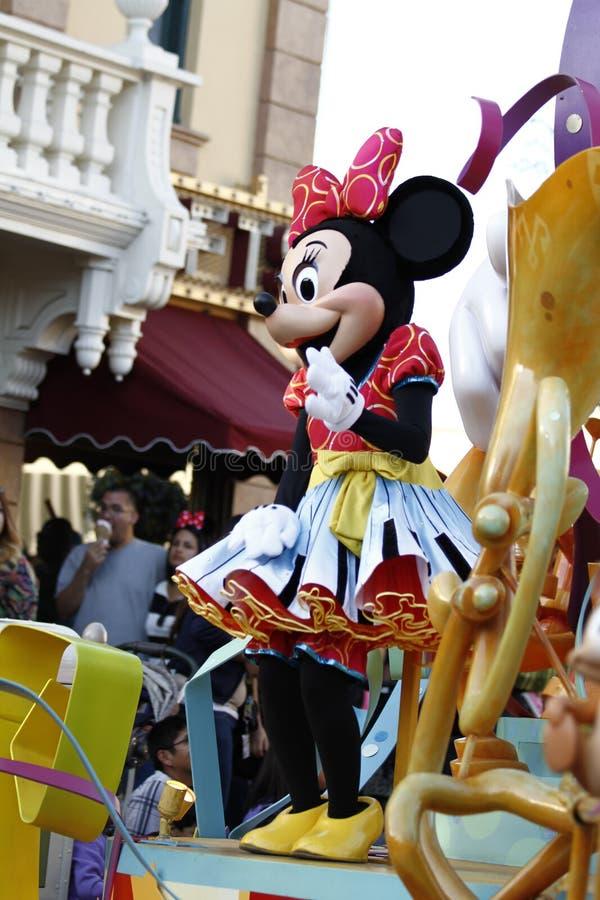 Minnie Mouse at Disneyland stock photos
