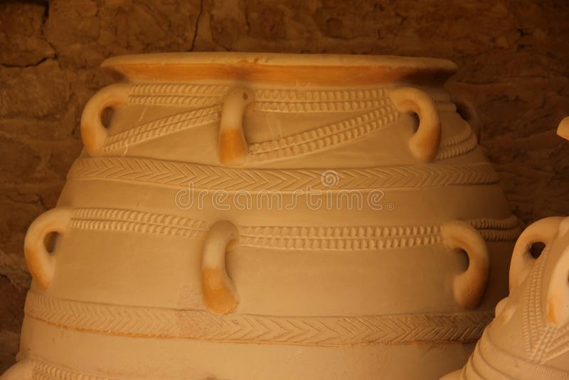 Minoan amfora zdjęcia stock