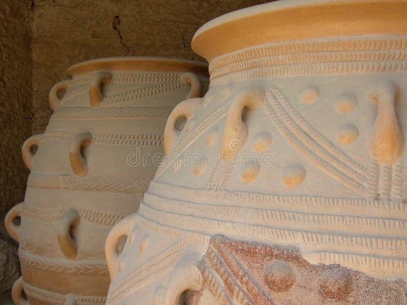 Download Minoan Jars stock image. Image of ceramic, european, culture - 3200797
