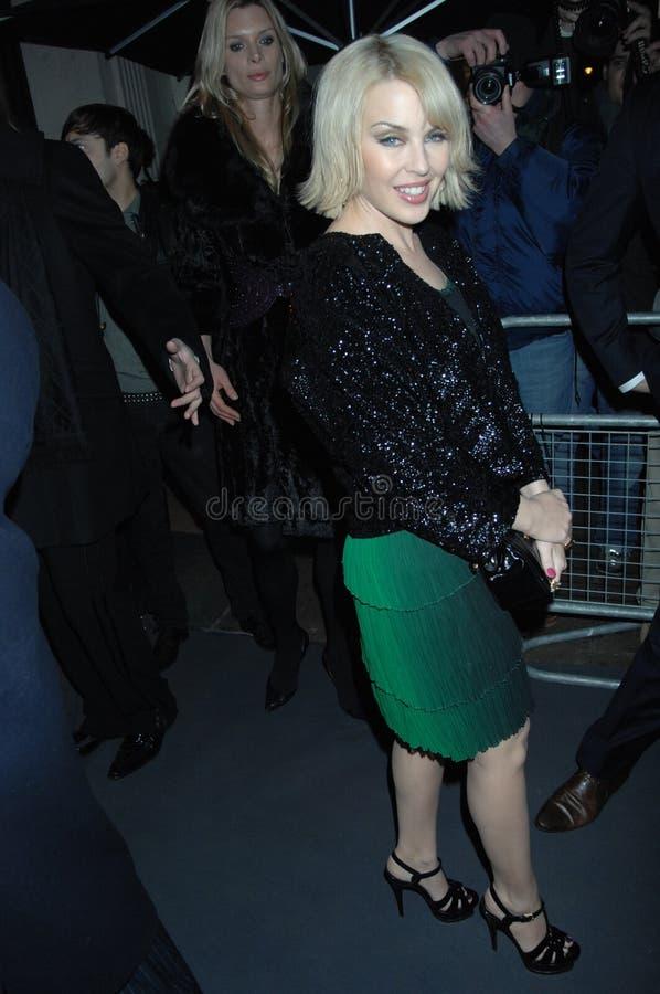 Minogue de Kylie faisant la fête à Londres 2016 photographie stock