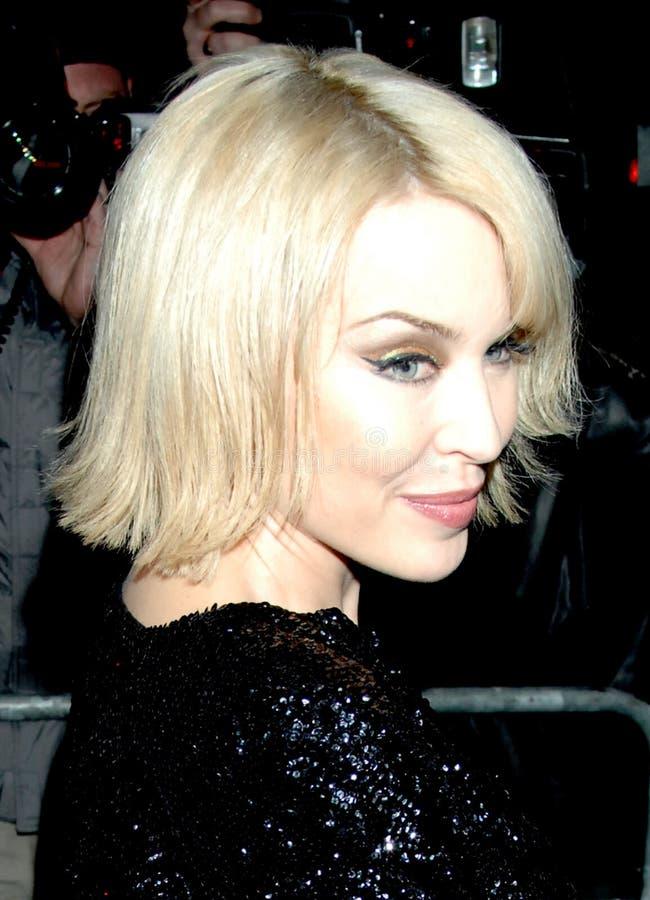Minogue de Kylie faisant la fête à Londres 2016 photo libre de droits