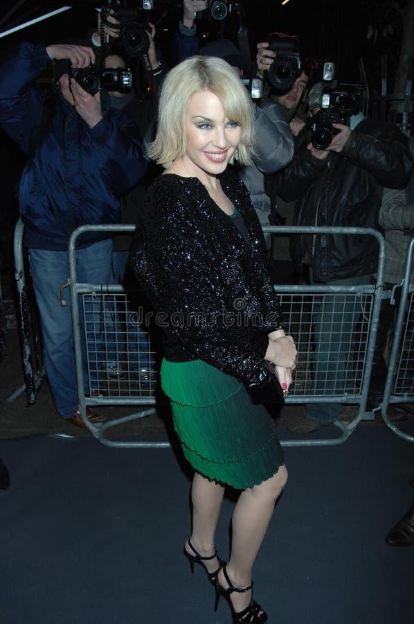 Minogue de Kylie faisant la fête à Londres 2016 photos libres de droits