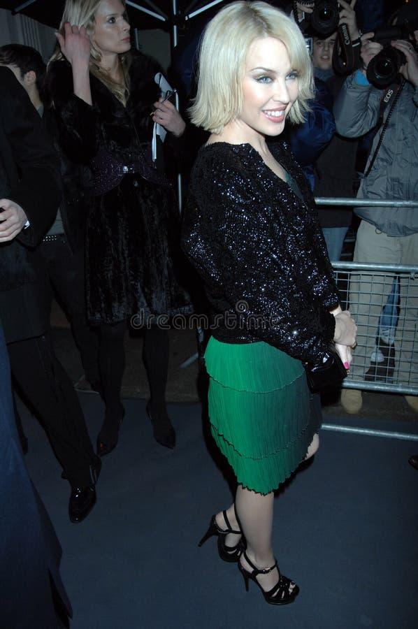 Minogue de Kylie faisant la fête à Londres 2016 photos stock