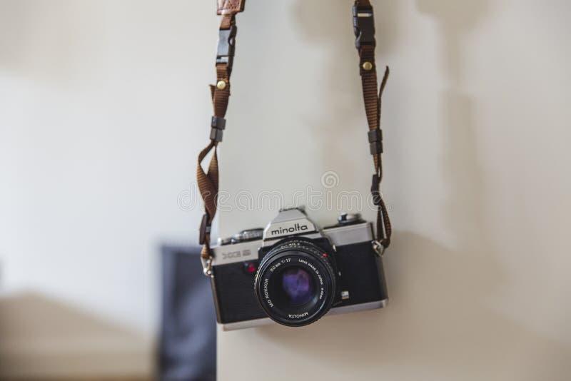 Minolta Black Gray Classic Camera Free Public Domain Cc0 Image