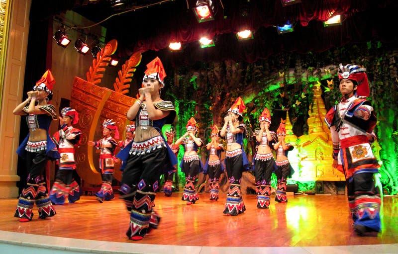 Minoría en Yunnan colorido foto de archivo