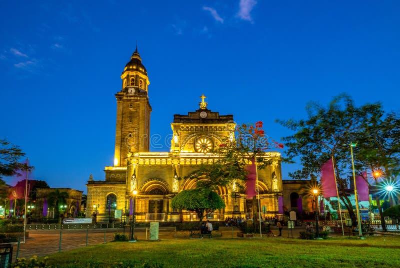 Manila Cathedral, Intramuros, Manila, Philippines royalty free stock photography