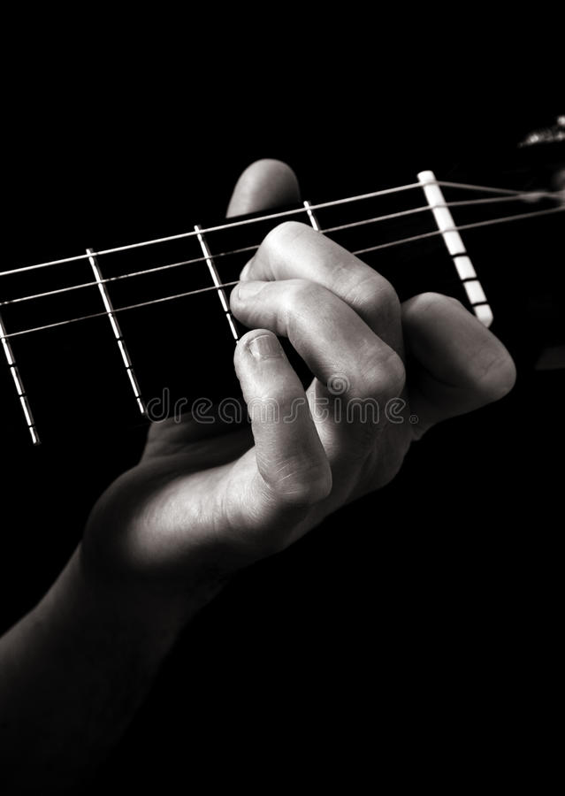 Minor Seventh Chord Am7 Stock Photo Image Of Guitar 16324976