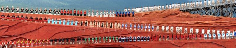 Minoranze del Yunnan fotografia stock