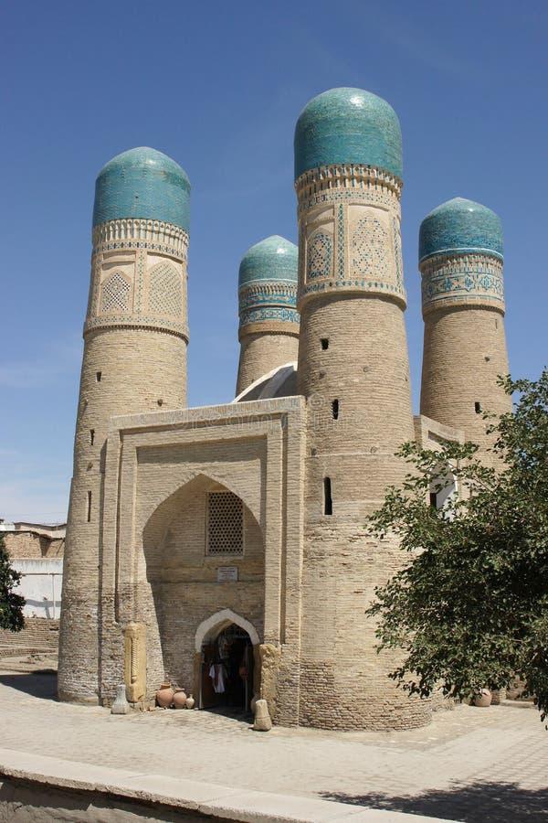 Minore di Madrassa Chor, Buchara, Uzbekistan fotografie stock libere da diritti
