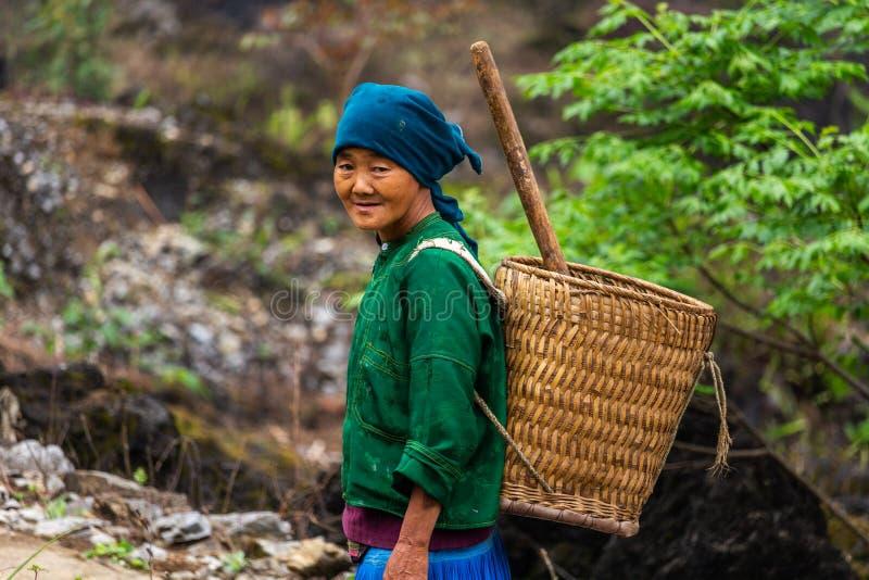 Minoria étnica Vietname de Hmong imagem de stock