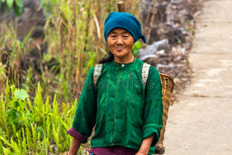 Minoria étnica Vietname de Hmong imagem de stock royalty free