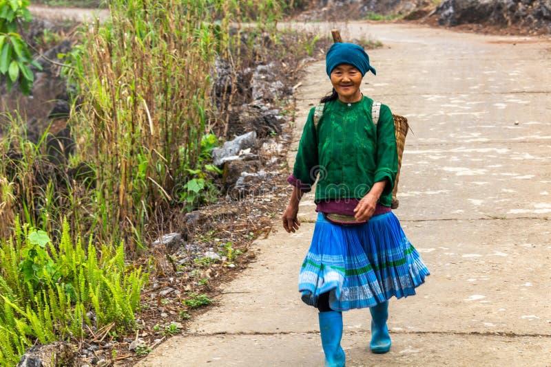 Minoria étnica Vietname de Hmong fotos de stock royalty free