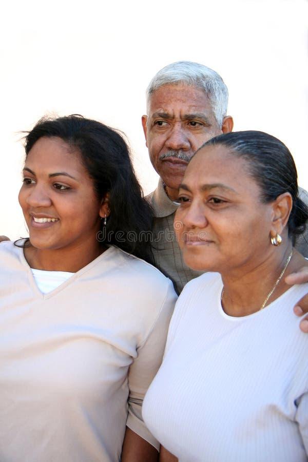 Minorität-Familie stockbilder