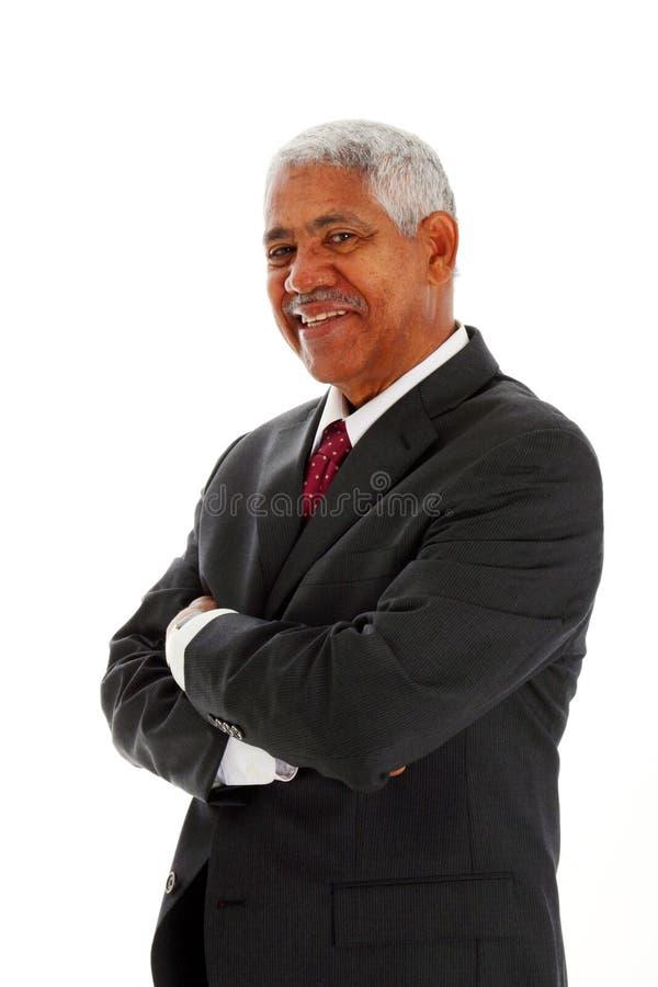 Minorität-Geschäftsmann stockfoto
