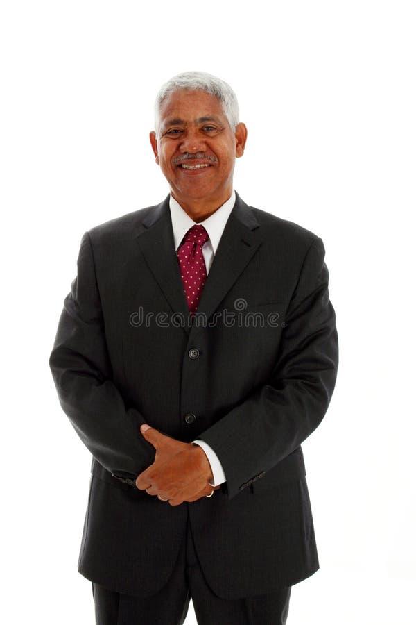 Minorität-Geschäftsmann stockfotografie