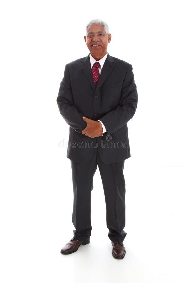 Minorität-Geschäftsmann lizenzfreie stockfotografie