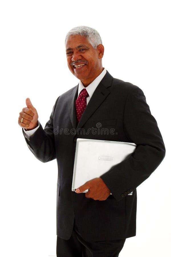 Minorität-Geschäftsmann lizenzfreies stockfoto