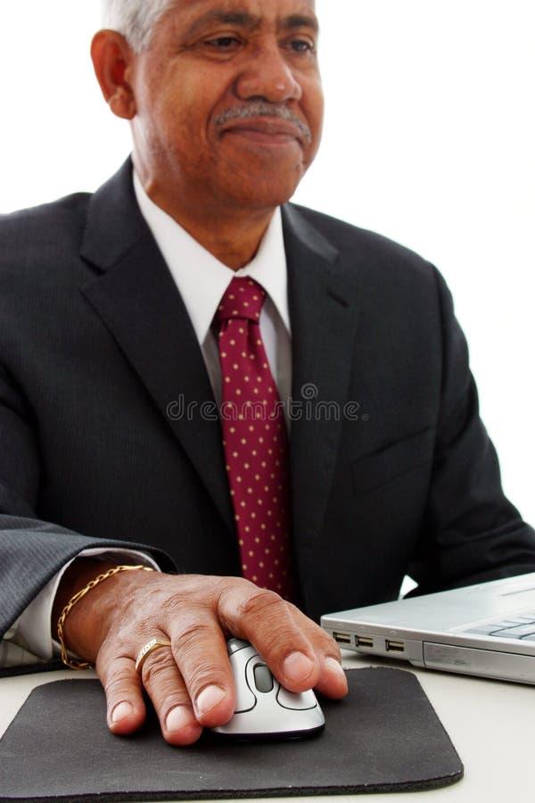Minorität-Geschäftsmann lizenzfreie stockfotos