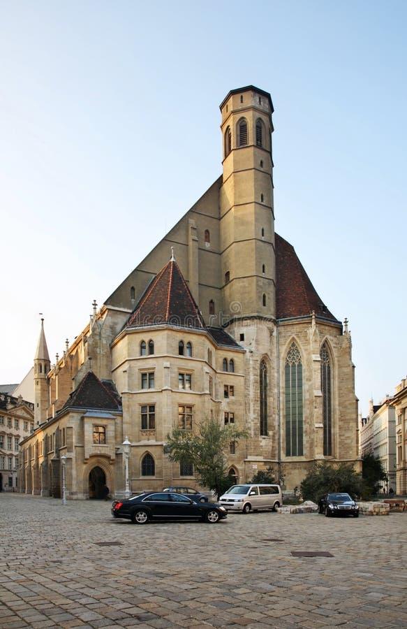 Minoritenkirche - εκκλησία Minorites στη Βιέννη australites στοκ φωτογραφίες με δικαίωμα ελεύθερης χρήσης