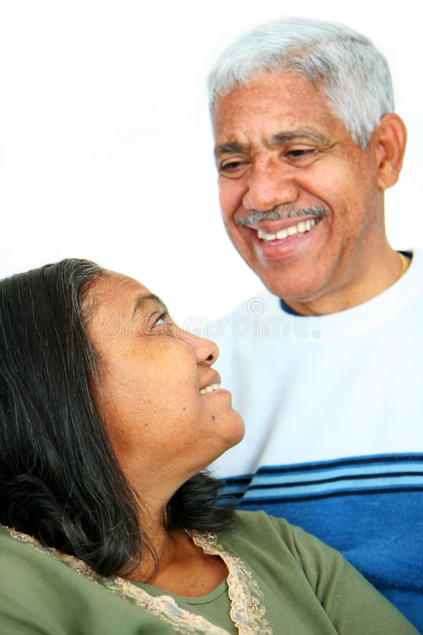 Minority Couple stock photo