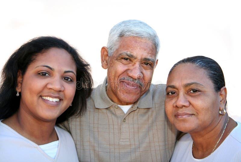 Minority Family royalty free stock photography