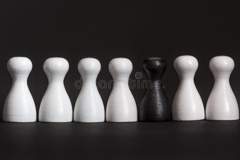 Minority representation royalty free stock photography