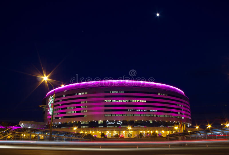 Minsk arena, Vitryssland arkivfoton