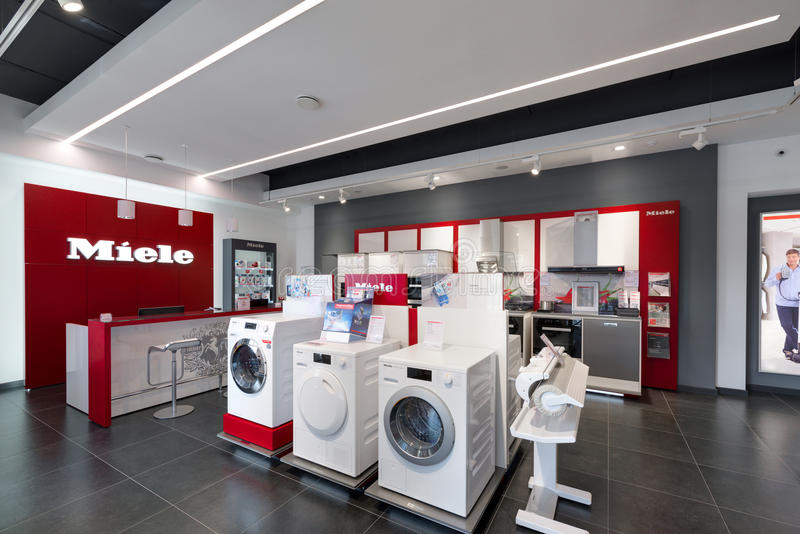 Minsk, Belarus - June 25,2017: Miele Sales Office In Minsk. stock image