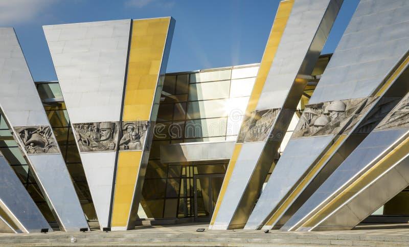 MINSK, BELARUS - SEPTEMBER 11, 2018: Belorussian Museum Of The G. Reat Patriotic War In Minsk, Belarus stock images